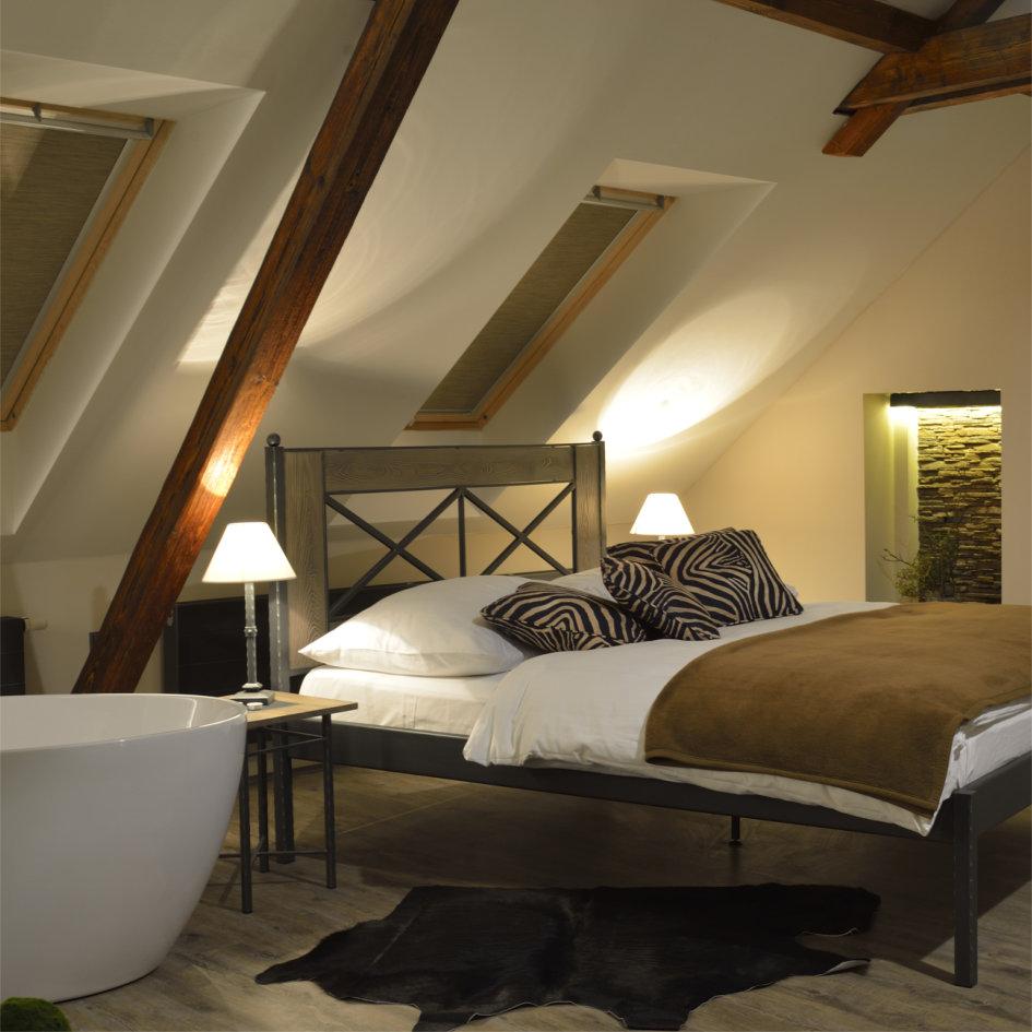 Pokoj Chamonix, hotel Via Ironia Vysoké Mýto