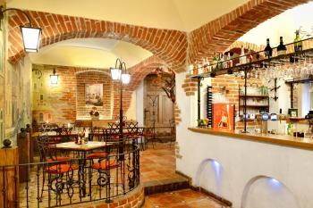 Interiér restaurace VIA IRONIA Vysoké Mýto 4