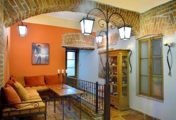 Restaurace VIA IRONIA Vysoké Mýto - interiér 5