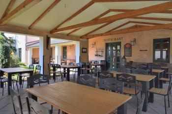 Zahradní restaurace Via Ironia